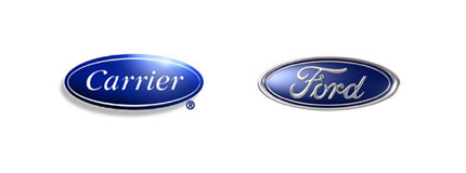 carrier ford logos