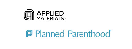 applied materials planned parenthood logos